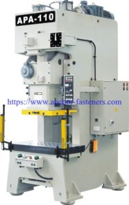 wedge anchor clip hydraulic punching press