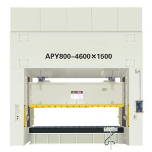 100-1000Tons APY series double double action crank precision punching machine