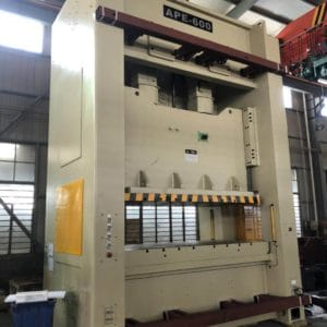 100-500Tons APM series couple cranks precision pressing machine