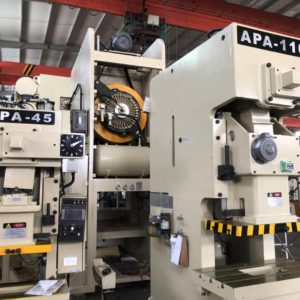 15Tons-260Tons APA series universal type progressive stamping precision press