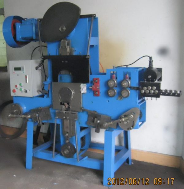 hook anchor and eye anchor bolt wire forming machine