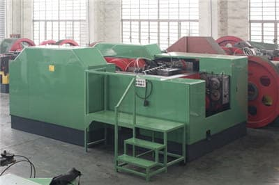 Hexagon coupling nut forming machine