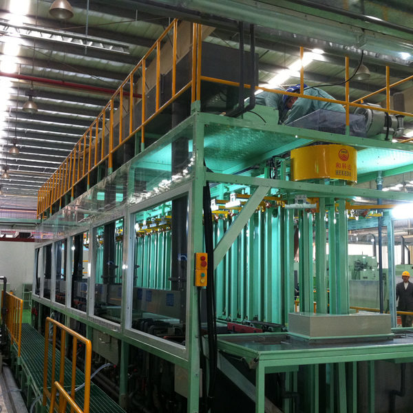 Automatic Gantry Type Vertical Rack Electro Plating Production Line