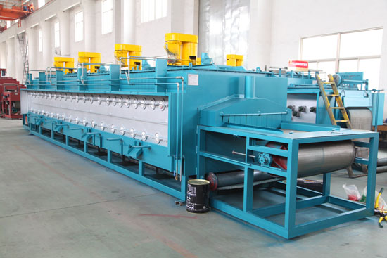 Electric Heating Continuous Controllable Atmosphere Mesh Belt Quenching and Tempering Heat Treatment Furnace