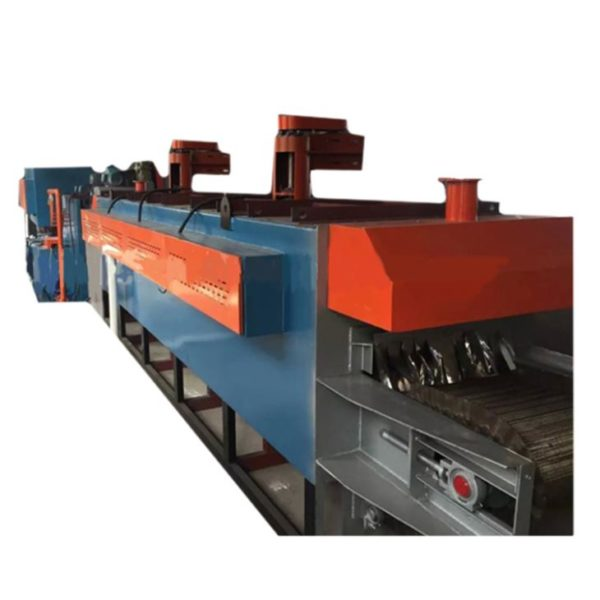 Electric Heating Continuous Controllable Atmosphere Mesh Belt Quenching and Tempering Heat Treatment Furnace1