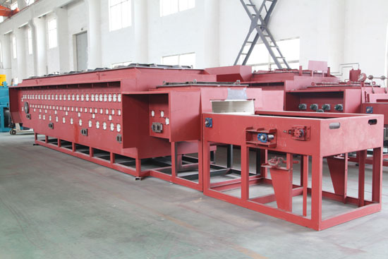 Electric Heating Continuous Controllable Atmosphere Mesh Belt Quenching and Tempering Heat Treatment Furnace4