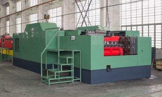 Stainless steel pipe joint high speed making machine