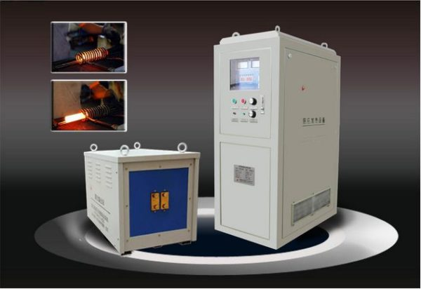 120KW Ultrasonic Frequency Plate Parts Hardening Induction Heating Machine