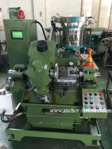 APM-300 Automatic Self Drilling Screws End Forming Machine