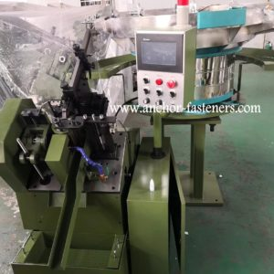 ATC-100 Automatic Self Drilling Screws Tail End Point Cutting Machine