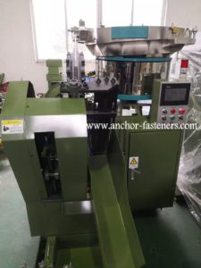 ATC-400 High Speed Self Tapping Screws Tail End Point Cutting Machine
