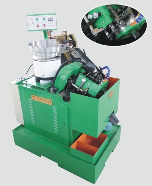 Burr-free hex screw directional slot milling machine