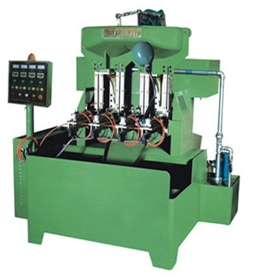 Hex Nut And Flange Nut Pneumatic Full Automatic Nut Tapping Machine