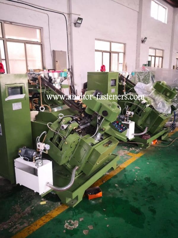 High Speed Self Tapping Screw Point Forming Machine1