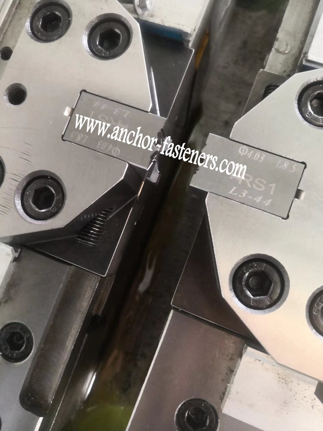 Mold and die system of High Speed Self Tapping Screw Point Forming Machine