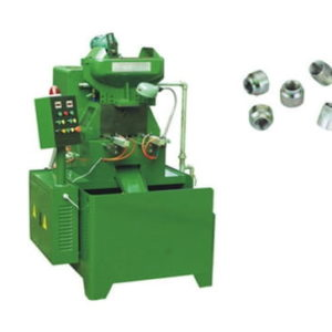 Round Nuts Two Spindles Full Automatic Nut Thread Tappering Machine