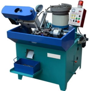 Single Axle Cap Nuts Full Automatic Nut Thread Tapping Machine