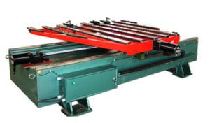 CNC steel material feeder