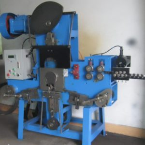 Clip pin wire forming production machine
