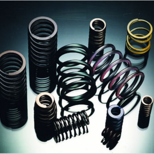 Compression springs made by ASF-6 six axles compression Spring Production Machine
