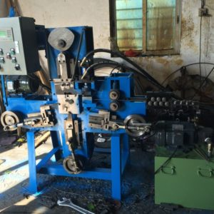 Hulu buckle wire forming production machine
