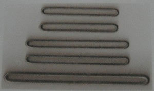 Long oval buckle made by buckle wire forming production machine