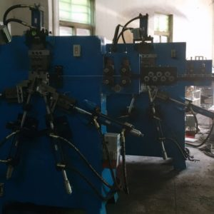Packing buckle wire forming production machine