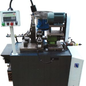 Single side automatic special fasteners chamfering machine lathe