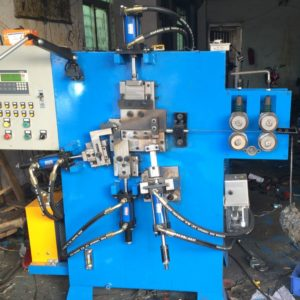 U hook nail wire parts forming production machine