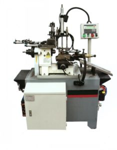 specialty fastener front feeding automatic turning lathe