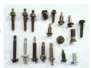 specialty fastener machined by front feeding automatic turning lathe