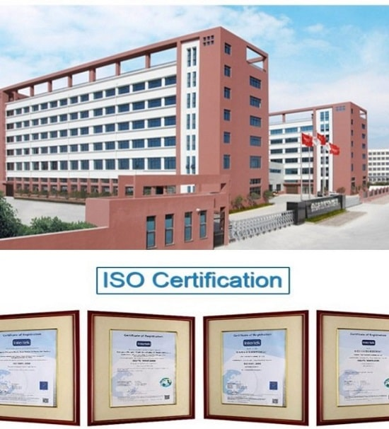huayu factory and iso certifications